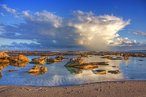 Rocks Water Rocks Gravel Sand Water